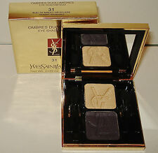 Yves Saint Laurent Ombres Duolumieres For Eyes # 31  Eye Shadow  Duo NIB