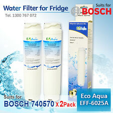 2X GENERIC FRIDGE WATER FILTER FOR BOSCH 740570 9000077095 9000077096