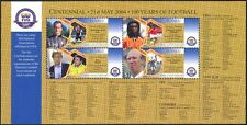 Tuvalu 2004 FIFA 100th Anniversary/Football/Sports/Games/Soccer 4v m/s (s4703n)