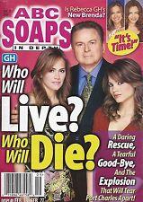 ABC Soaps In Depth Magazine - February 27, 2007 Stuart Damon, Natalia Livingston