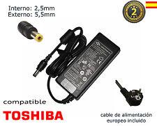 Cargador de portátil Toshiba Satellite A105 , S. A105-S101, S. A105-S171,