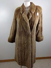 VTG GEORGEOU WESTMINSTER WOMENS SHEARED MINK GENUINE FUR COAT FABULOUS!