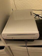 Nintendo Wii U White Console - 8GB And Wii u Gamepad Tested Working Ok.