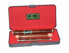 Irish D Flute Brand New  Rose Wood Pro Wooden Hard Case Length 58cm 3Pcs