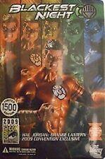 Green Lantern Blackest Night 2009 SDCC Exclusive Hal Jordan Orange Lantern
