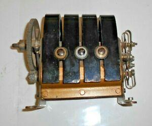 ANTIQUE c1900 ERICSSON TELEPHONE GENERATOR