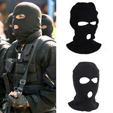 BALACLAVA BLACK MASK THINSULATE WINTER SAS STYLE ARMY SKI KNITTED NECK WARMER