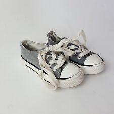 Boy's Grey Lace up Sneakers by Rebel size 7UK 24EU