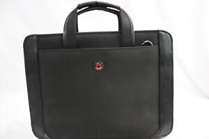 "Wenger Proxy 14"" Zippered Laptop Presentation Padfolio Office Business Bag"