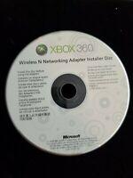 Wireless N Networking Adaptor Installer Disc XBOX 360 2009 Microsoft