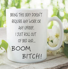 Novelty Mug Boom B*tch Present Gift Funny Cup For Friend Joke 11oz WSDMUG226