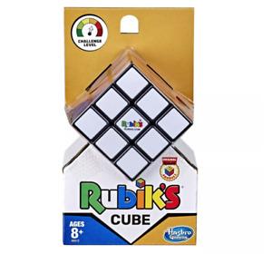 Rubiks Cube 3x3 Original Brain Teaser Puzzle Strategy Game Hasbro