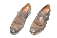 NEW CHURCH'S Dress Leather Shoes Model SHANGAY Vintage Size Eu 42 Uk 8 Us 9 (H4)