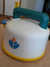 Vintage 1987 Fisher-Price Fun with Food WHISTLING TEA KETTLE Teapot #2113