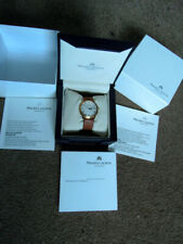 18K GP Maurice Lacroix Date Day Pontos Mechanical Automatic Watch Boxes Papers