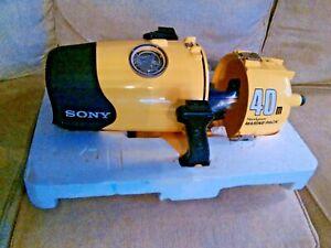 Sony Handycam Marine Pack 40M MPK-F40 with Sony Handycam CCD-F301 Video 8 Camera