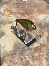 Awesome Vintage Bagley Db-3 In Rainbow Trout Pattern! Great Color!
