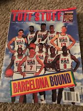 Vintage Tuff Stuff Magazine Jul 1992 USA Basketball Team Michael Jordan W/ Cards