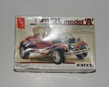 Ford '29 1929 Model A 2-in1 Top Amt #4156 Ertl #6572 Model Kit 1:25 1988 Sealed