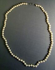 """22"""" Strand of Majorca Pearls Necklace - 82 Pearls - 5.5 mm"""