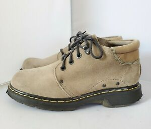 Doc Dr Martens Mens 9 US Womens 10 Ankle Boots Lace Up Made in England Vintage