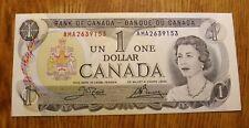 New listing Canada Dollar 1973 High Grade Crisp Currency (X)