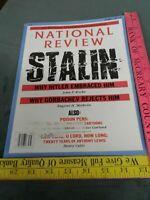National Review Magazine September 1, 1989 XLI, NO. 16