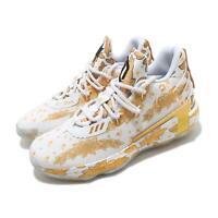 adidas Dame 7 VII Damian Lillard Ric Flair White Gold Men Basketball Shoe FY2802