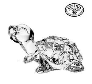 Bohemia Crystal Turtle Figurine Gift Full Lead Crystal 58900.100FIG 0.2k