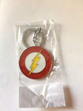 FLASH PORTACHIAVI LOGO IN METALLO KEYCHAIN DC IDEA REGALO
