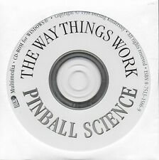 The Way Things Work Pinball Science for Windows CD-Rom 1998 Dorling Kindersley