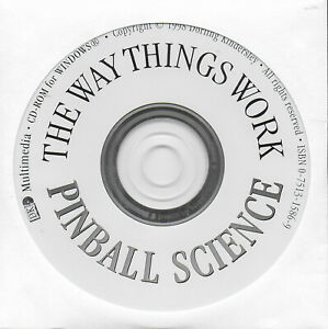 The Way Things Work Pinball Science for Windows CD-Rom 1998 Dorling Kindersley