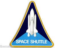 "4"" NASA SPACE SHUTTLE LOGO  HELMET CAR BUMPER EMBLEM DECAL STICKER MADE IN USA"