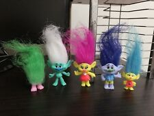 5Pcs/Set Magic Elf Toy Troll Doll Bobby Doll Decoration Little Doll Child Gift