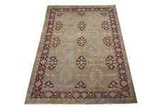"10X15 Antique Indian Agra Rug Hand-Knotted Wool Carpet, ca. 1900 (10'1"" x 14'8"")"
