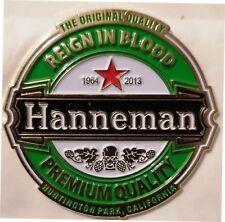 SLAYER - HANNEMAN  - lapel pin - FREESHIPPING !!!