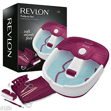 Revlon RVFB7021PUK Pediprep Foot Spa with 9 Pieces Nail Care Set - Brand New