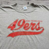 Vintage 90s San Francisco 49ers Logo Tshirt by Starter Made in USA Niners