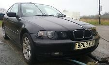 BMW 316ti SE COMPACT E46 FACELIFT 2003 1.8 N42 ENGINE BREAKING FOR PARTS O/S N/S
