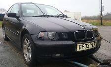 BMW 316ti se Compacto E46 Facelift 2003 1.8 N42 romper N/S Delantero Para Piezas O/S