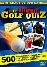 DVD:THE ULTIMATE GOLF QUIZ - NEW Region 2 UK