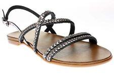 Sandali e scarpe grigio zeppa per il mare da donna