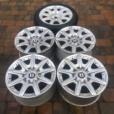 "5 Genuine Bentley Continental Mulliner 19"" Alloy Wheels GTC/GT/Flying Spur"