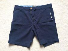 Navy Blue Burton Shorts Mens Used - Waist Size 32