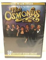 The Osmonds Live in Las Vegas 50th Anniversary Reunion Concert DVD 2008 Sealed