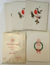 More details for 8 vintage christmas cards with space for photo - unused