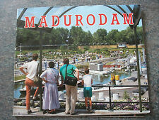 1980s, Madurodam, the Miniature City in Holland, founded in 1952. Souvenir Guide