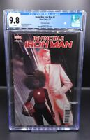 Invincible Iron Man 1 CGC 9.8 1:25 Dekal Variant Riri Williams IRONHEART DISNEY+