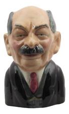 Clement Atlee Toby Jug by Bairstow Pottery NEW & MADE IN UK