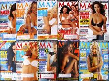 MAXIM FOR MEN LOT OF 10 #61 #62 #63 #64 #65 #66 #67 #68 #69 #70 - FREE SHIPPING